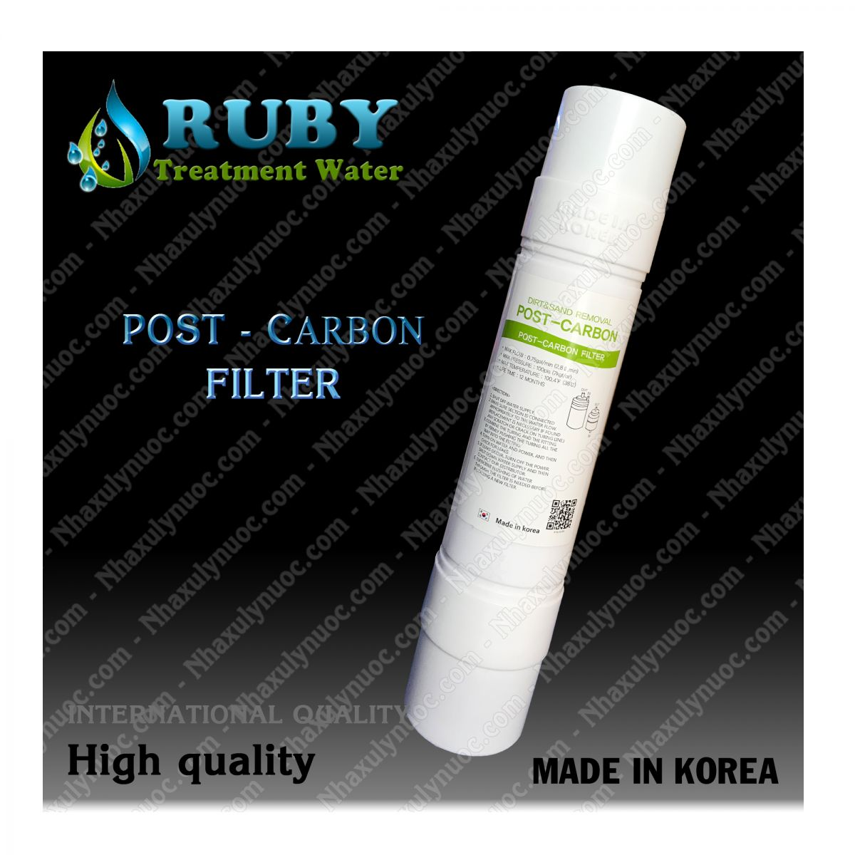 Loi loc Post carbon Han Quoc (Korea) chinh hang