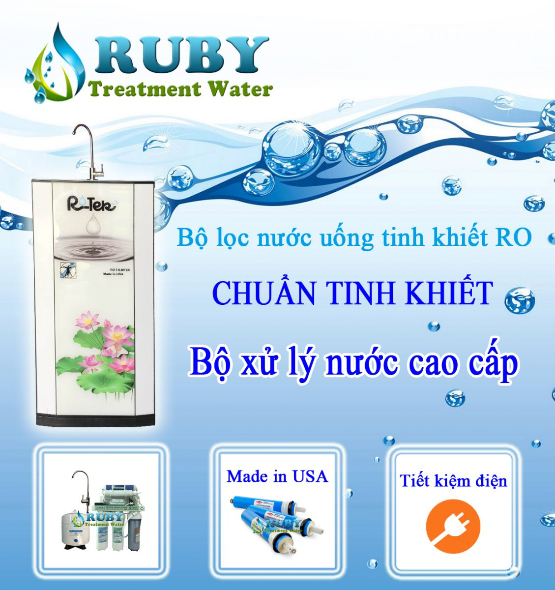 may loc nuoc RO thong minh RU BY